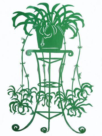 简单树叶窗花的剪法步骤图